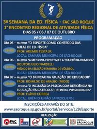 ENCONTRO REGIONAL DE EDUCACAO FISICA 1