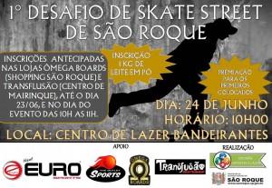 1 Desafio de skate street