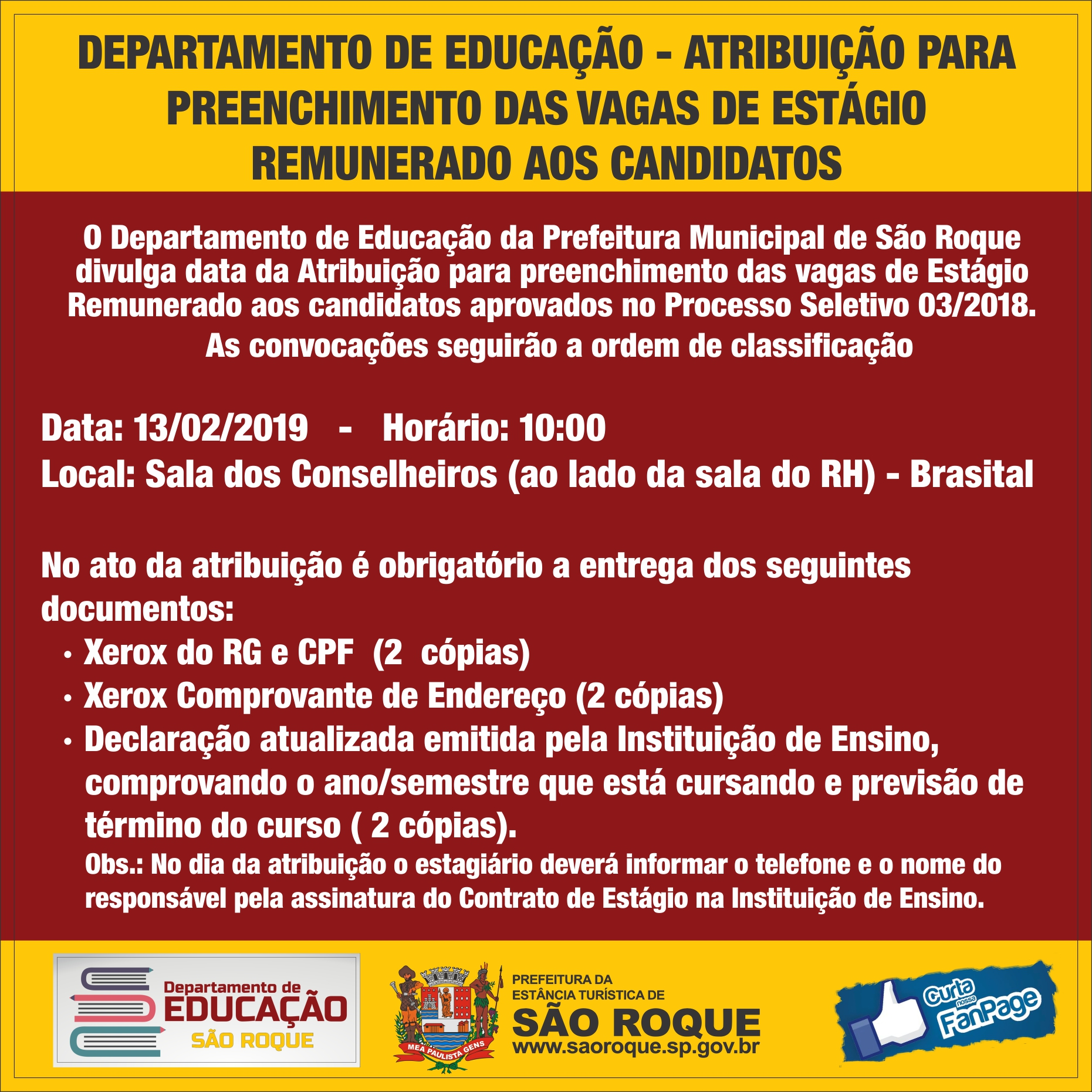 comunicado educacao