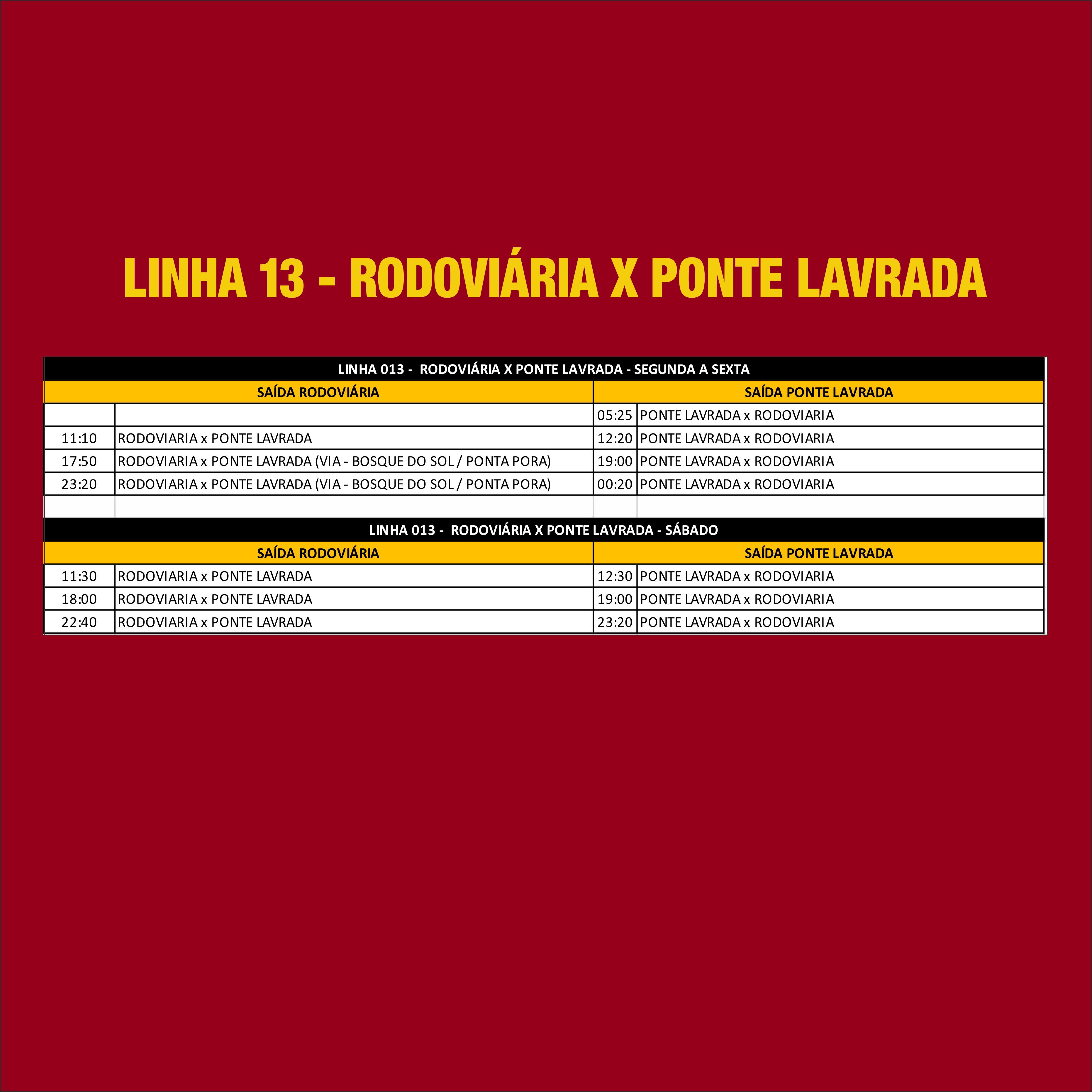 LINHA13